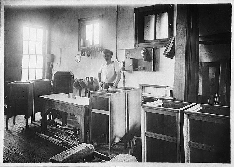Antonio's workshop