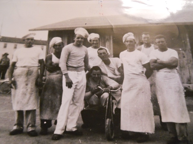 German POWs in Camp Florence, Arizona, circa 1944-1946