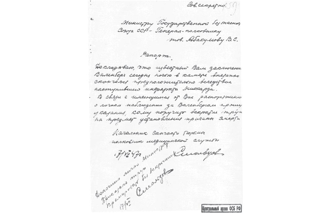 Smoltsov Report