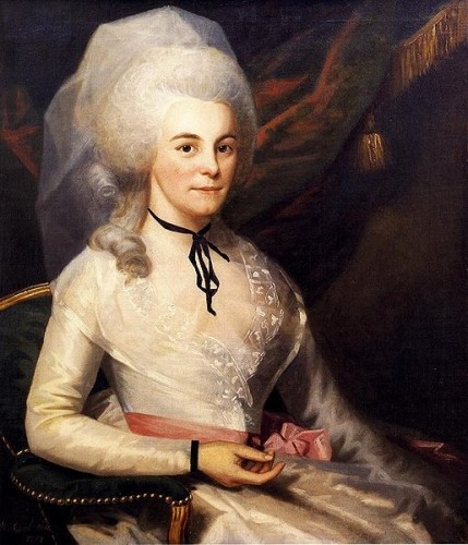 Elizabeth Hamilton, 1787. Museum of the City of New York