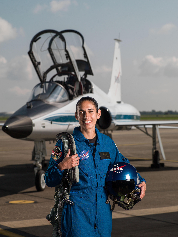Space Camp alumna Jasmin Moghbeli