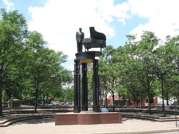 Reddick also helped with the creation of the Frederick Douglass Memorial