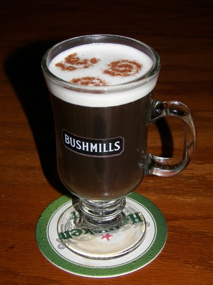 The Irish coffee