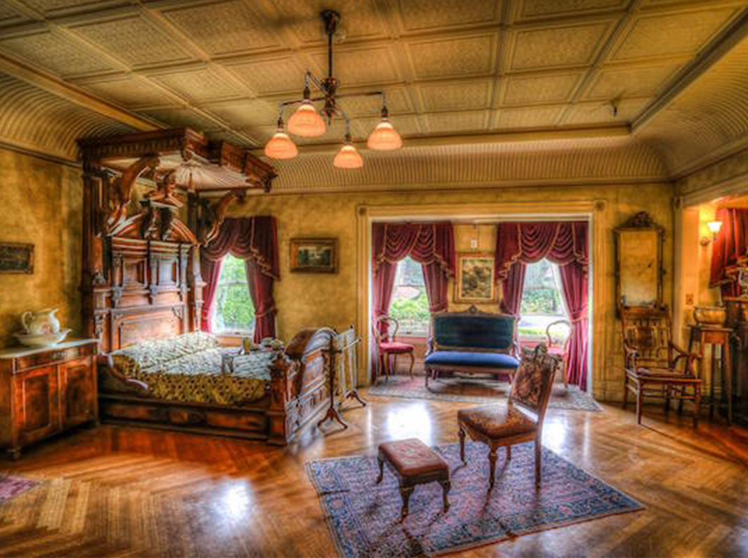 Mrs. Winchester's Main Bedroom