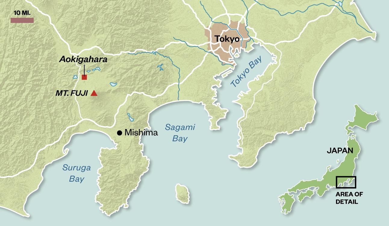 Why Mount Fuji Endures As A Powerful Force In Japan Travel - Japan map fuji