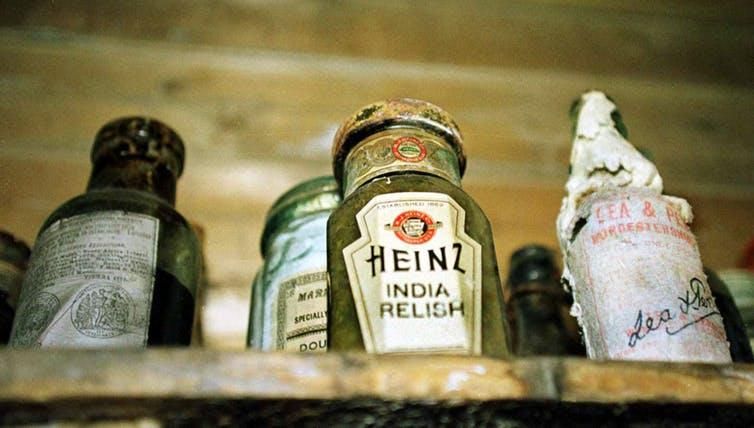 Heinz Tomato Ketchup stand untouched since 1909.