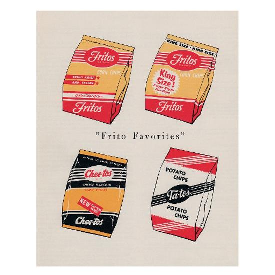 """Frito Favorites,"" circa 1954"
