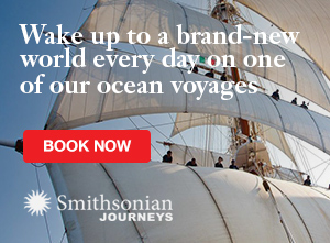 Go Ocean Cruising with Smithsonian Journeys