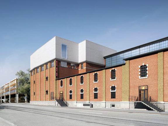 The Kunsthalle Zürich in the Löwenbräu Art Complex, designed by Gigon/Guyer and Atelier WW