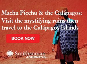 Enjoy a Journey to Machu Picchu and the Galapagos