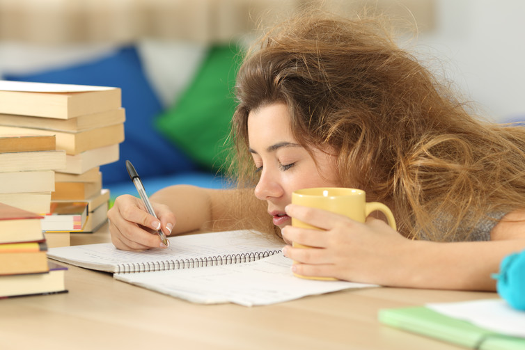 Losing sleep affects your ability to learn.