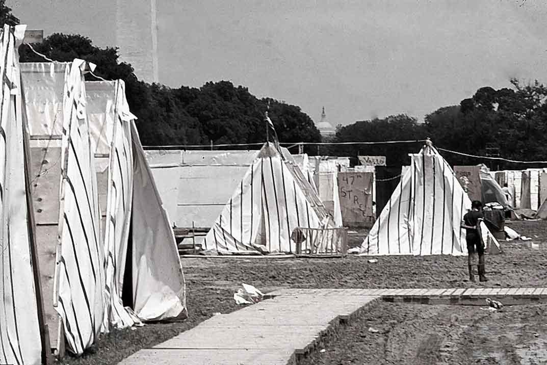Resurrection City, Washington, D.C., 1968