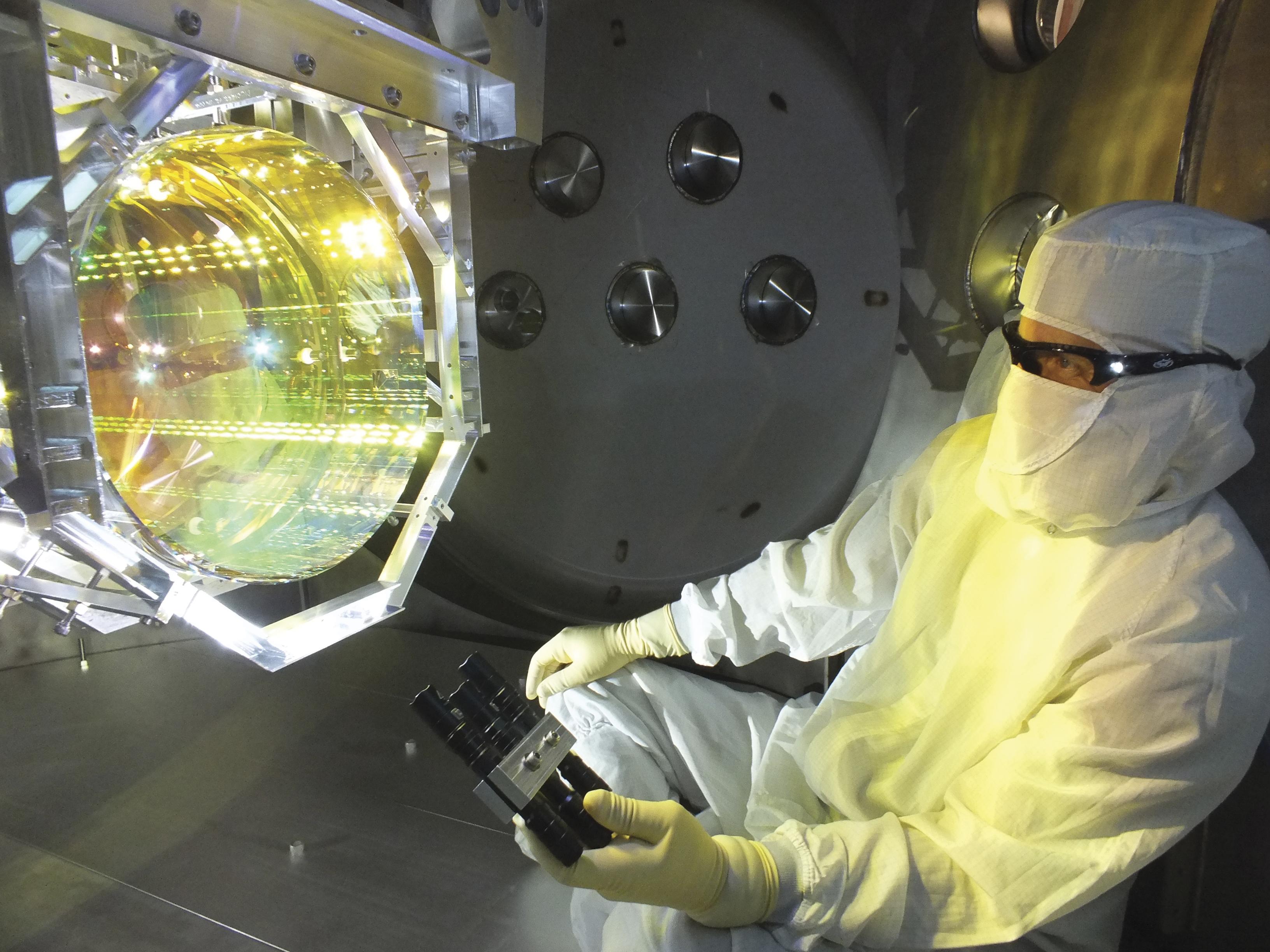 LIGO apparatus