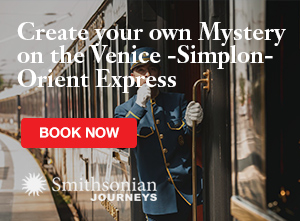 Join us on the Orient Express for a Mystery Tour