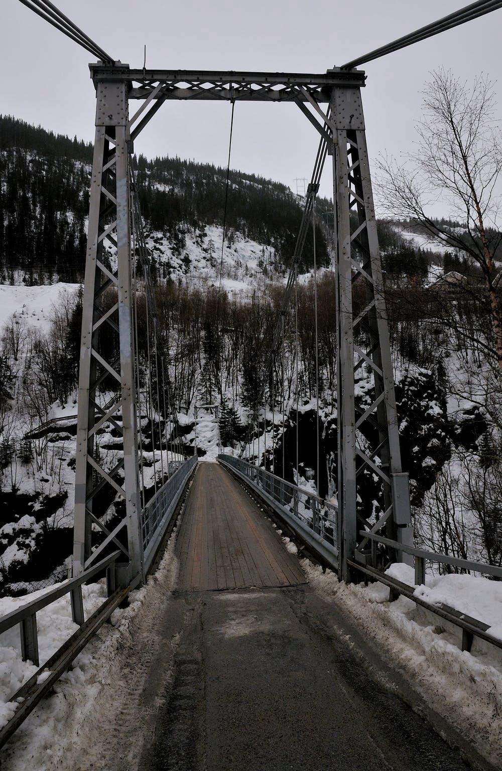 Bridge in to the Vemork site