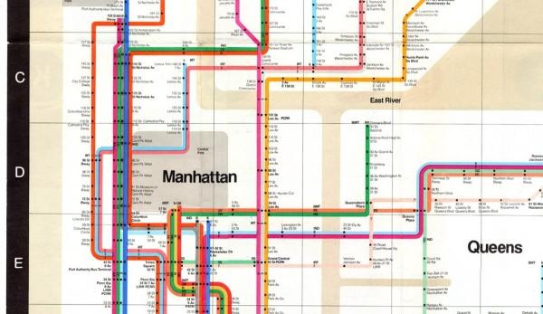 Vignelli subway map