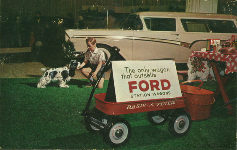 Radio flyer wagon ad