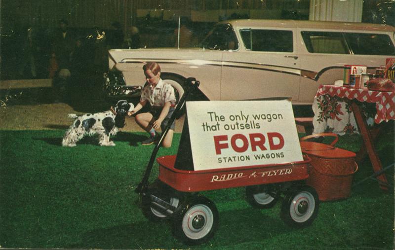 Radio flyer wagon ad