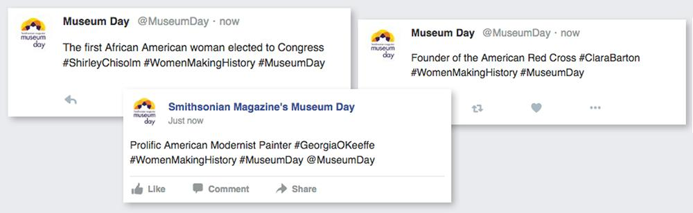 22b7728603a Celebrate Women Making History on Museum Day. Share female trailblazers you  discover at the museum you visit.