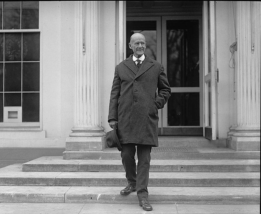 Eugene Debs leaving White House