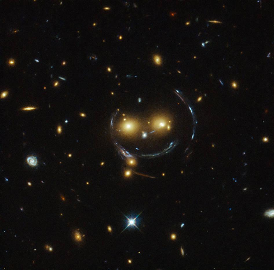 Hubble Smile