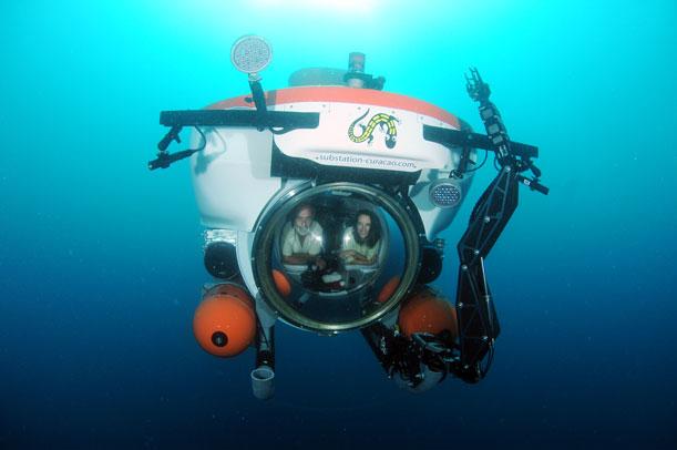 Smithsonian marine biologist Carole Baldwin