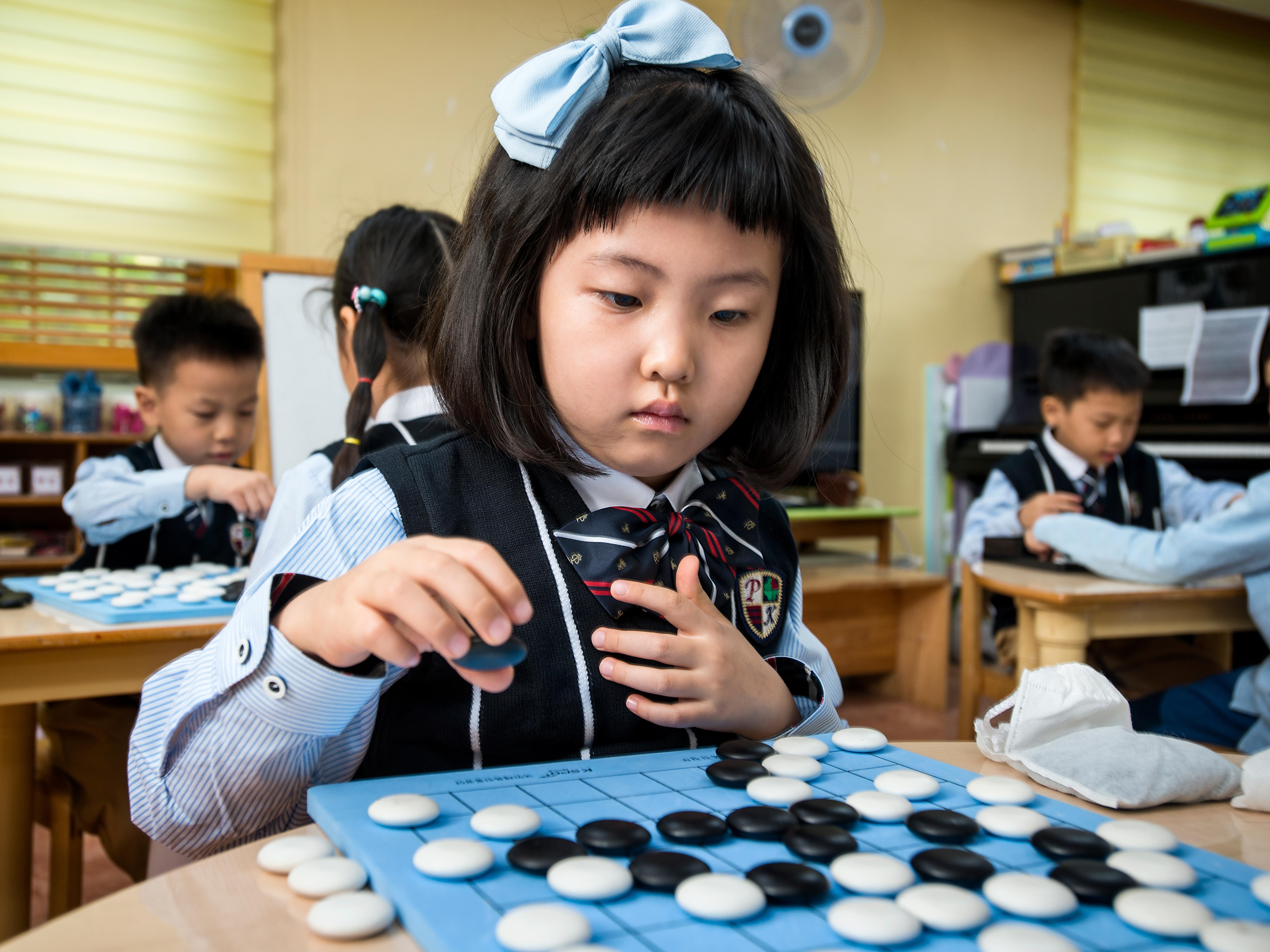 A primary school student