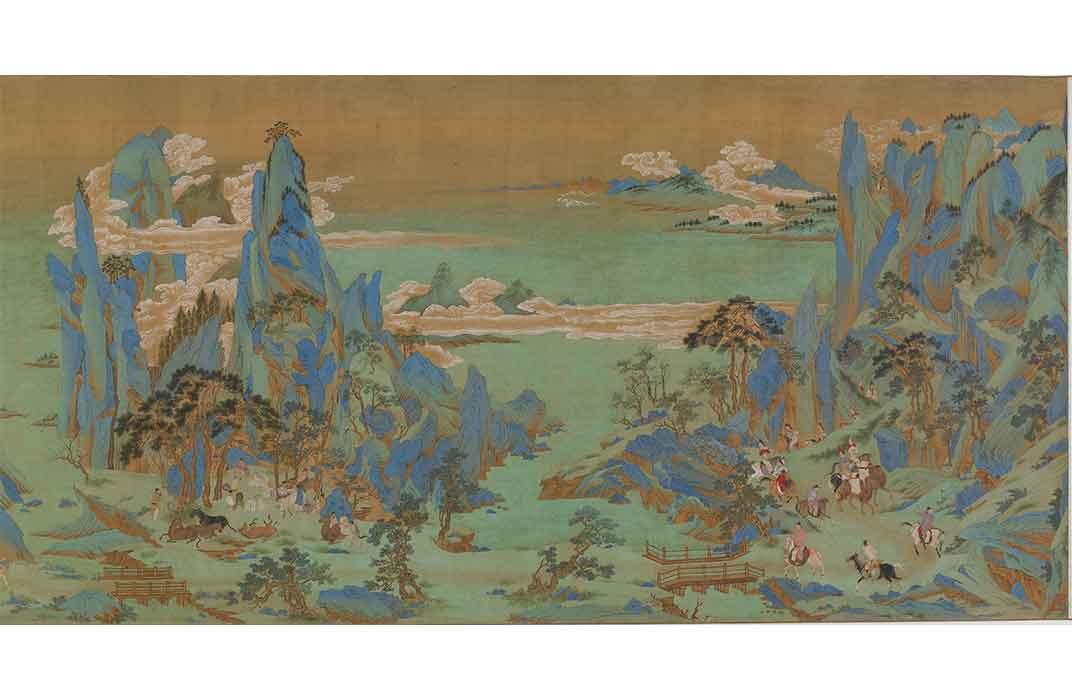 The Beauties of Shu River, 16th-17th century