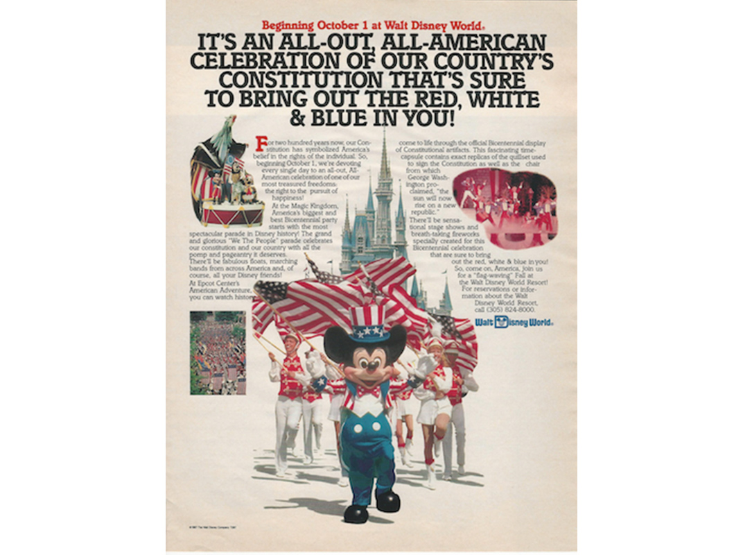 how disney came to define what constitutes the american
