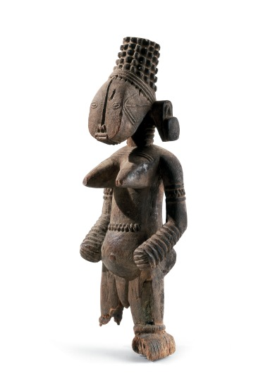 A Jukun maternal figure, used in fertility rituals