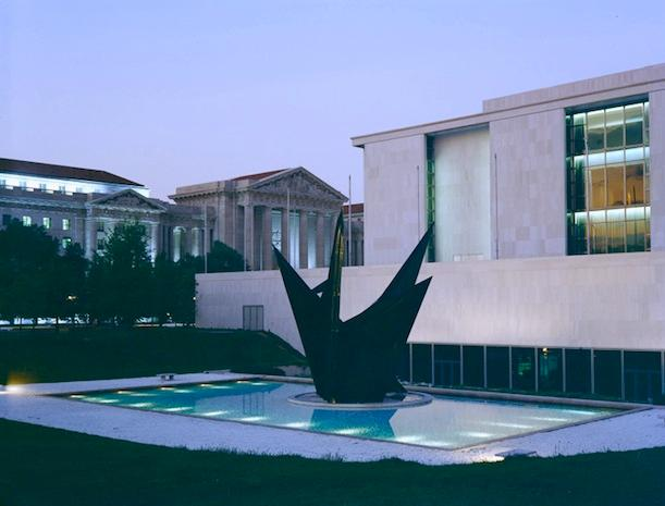 'Gwenfritz' was installed in 1969 and was one of the first modernist public sculptures in Washington D.C.
