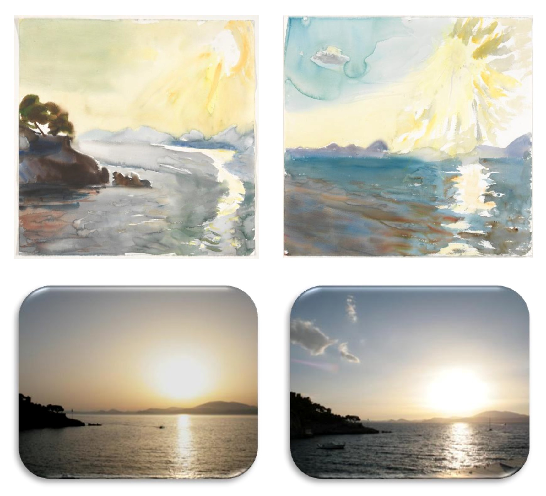 Tetsis paintings