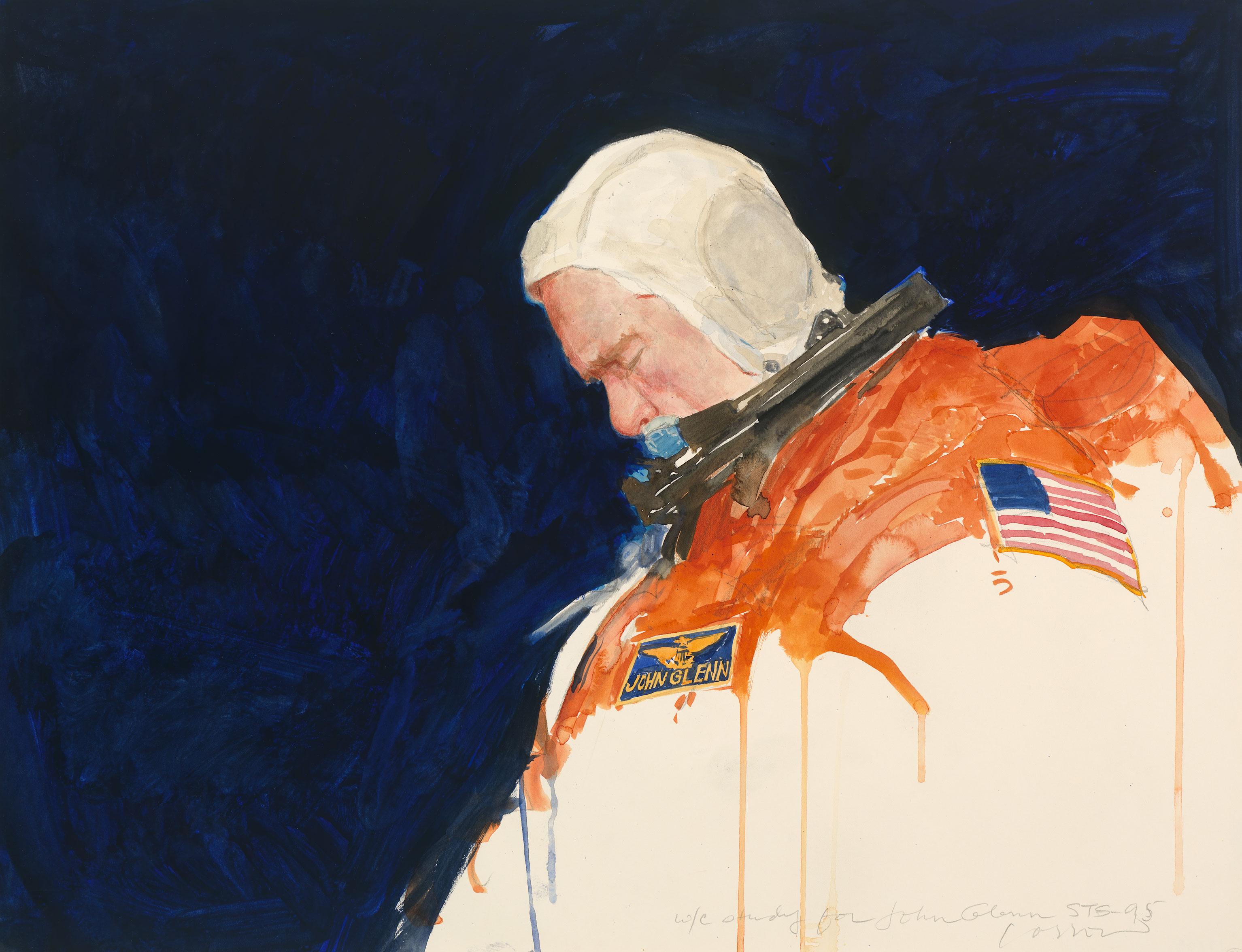 John Glenn by Henry C. Casselli, Jr.