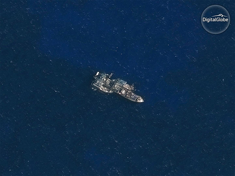 DigitalGlobe satellite image 2