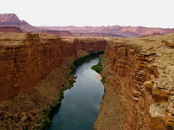 The Colorado River near Lee's Ferry, AZ.