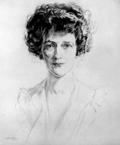 Viscountess Nancy Langhorne Astor by Walter Tittle, 1922