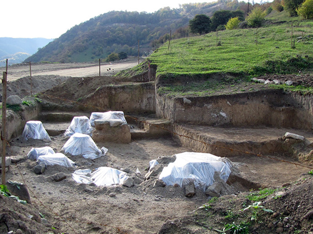 Excavations in Shnogh