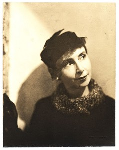 The woman at the heart of it all, Peggy Bacon, photographed circa 1920.