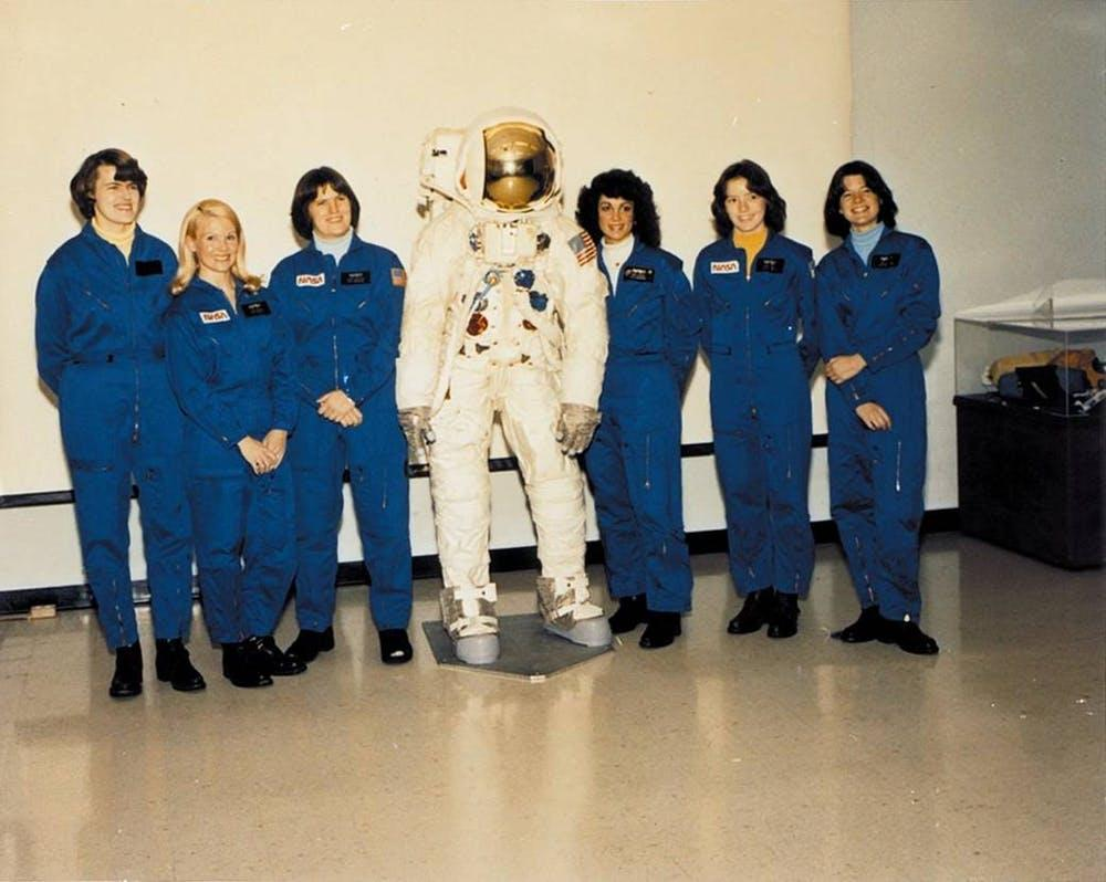NASA selected six women