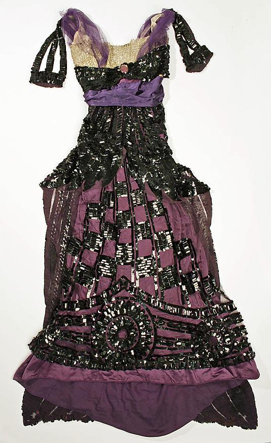 Callot Soeurs evening gown