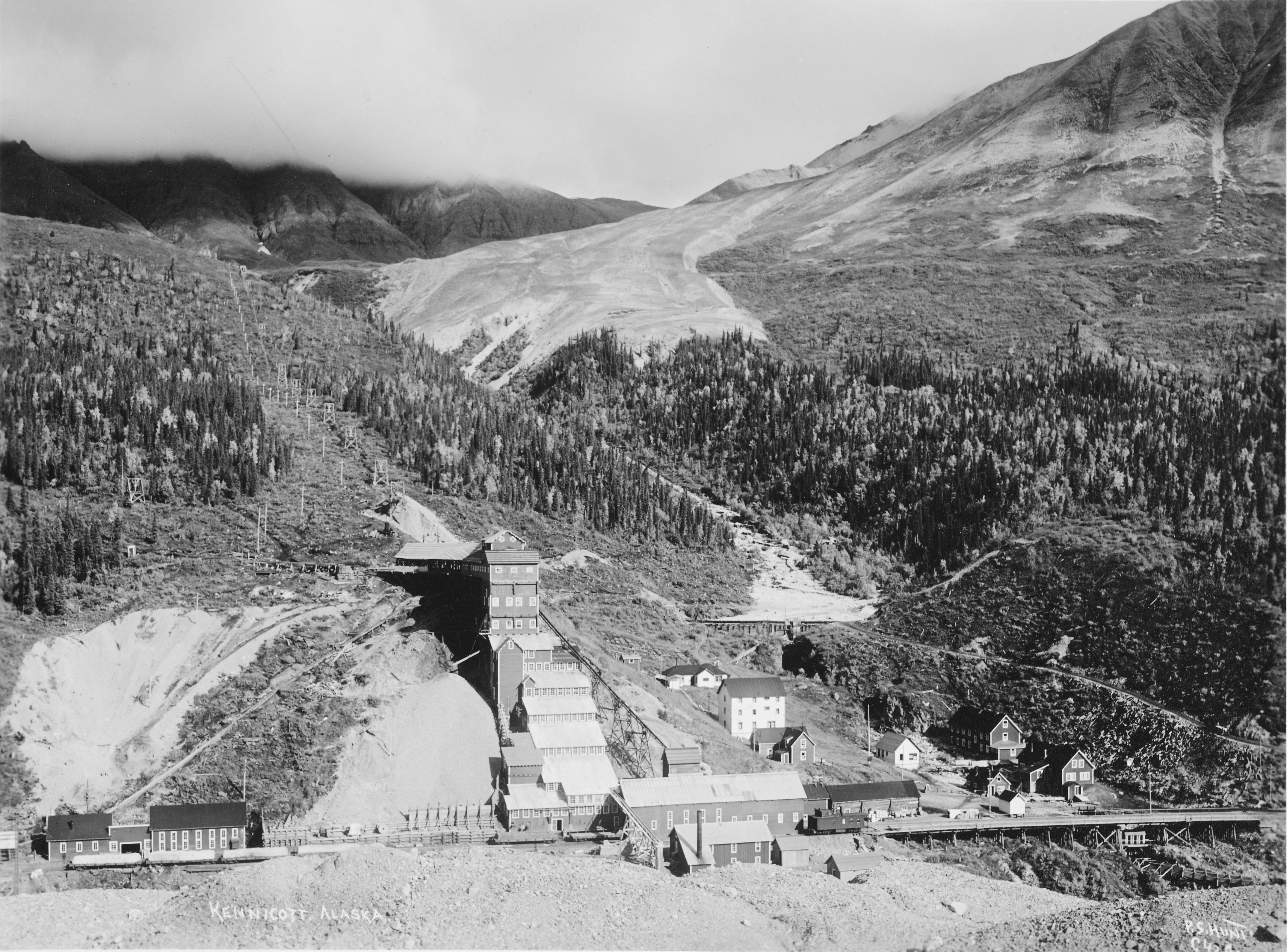 Kennecott miners