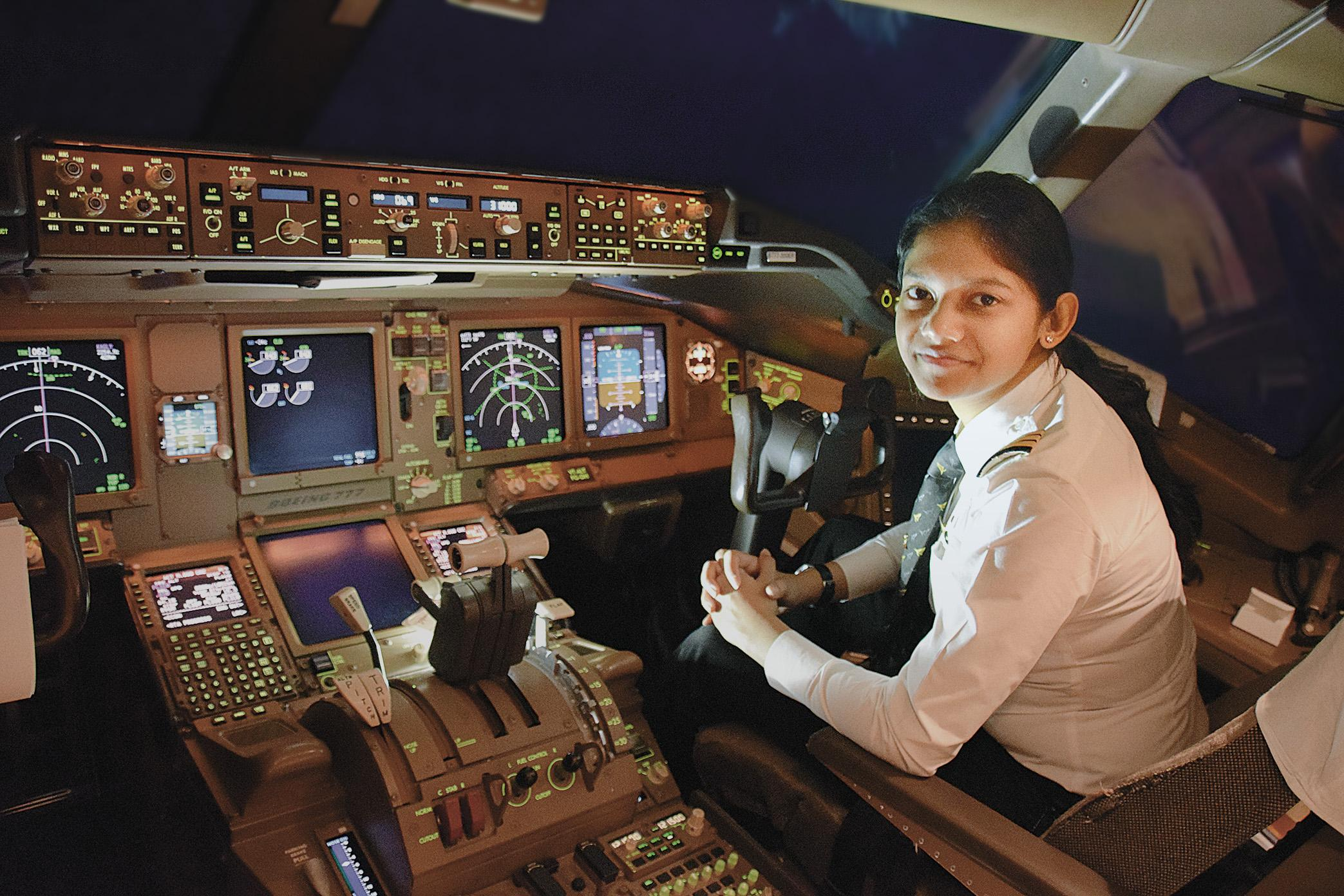 First Officer Gunjan Aggarwal