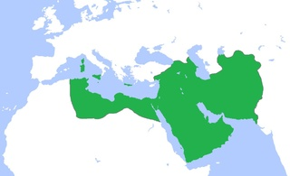 The Abbasid caliphate at the time of Haroun al-Rashid.