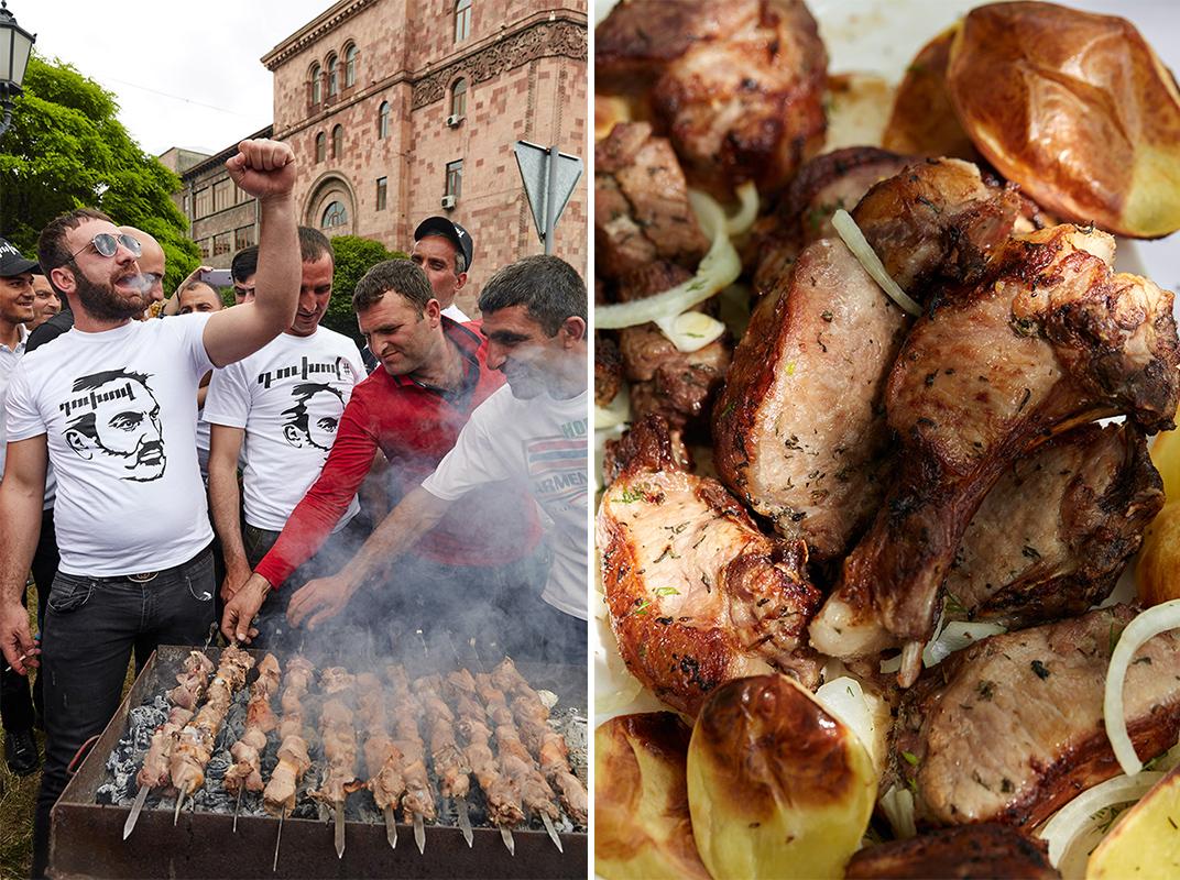 Qefilyan's pork khorovats