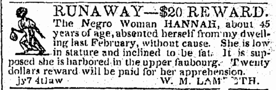 Women looking for slaves