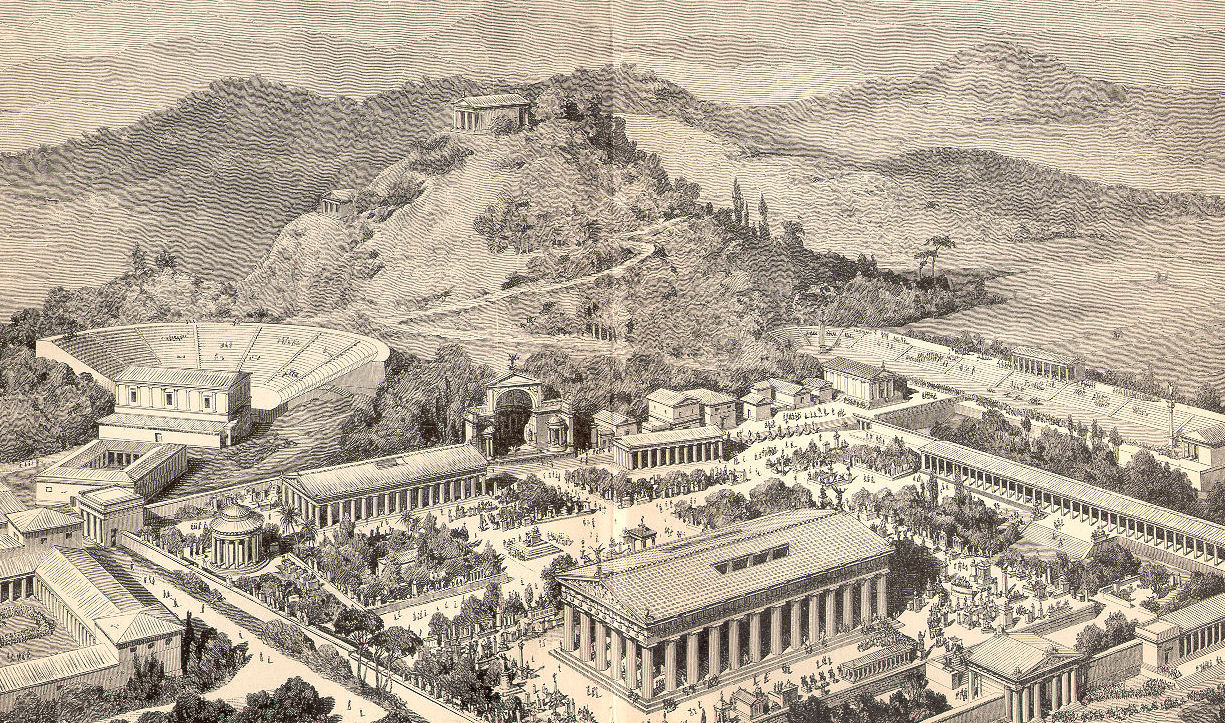 Olympia in Ancient Greece