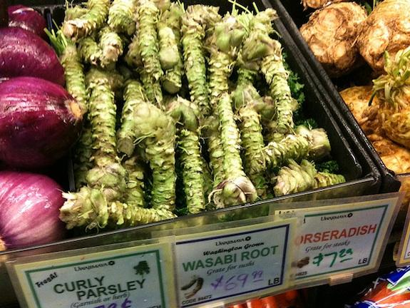 Wasabi root fetching a steep price