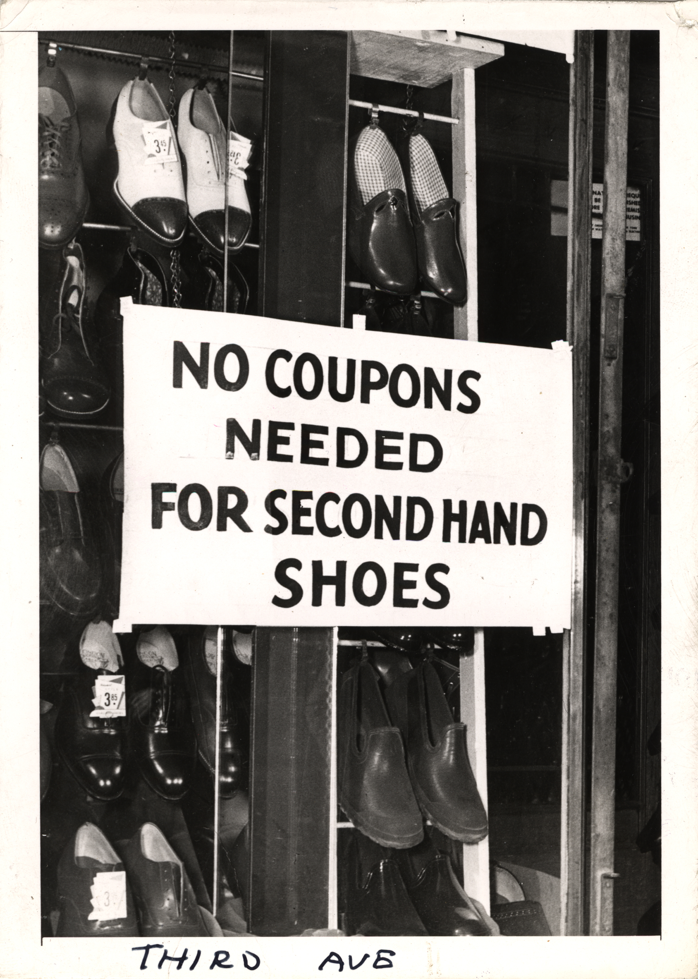 Second-hand shoe stores got a nice bump