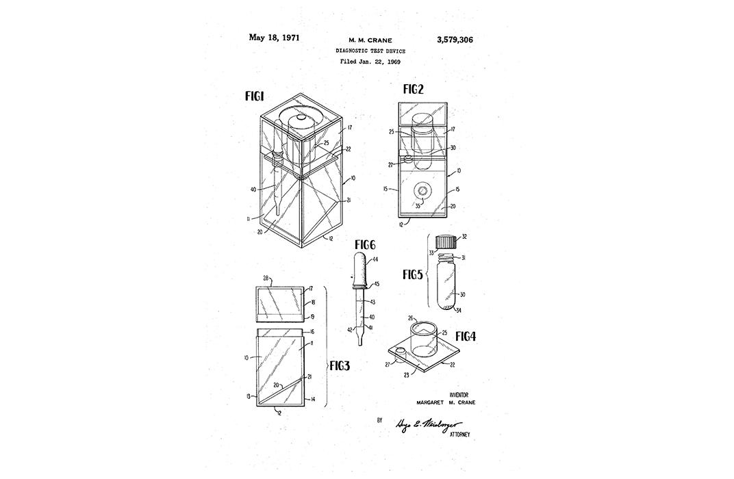 Margaret Crane Patent