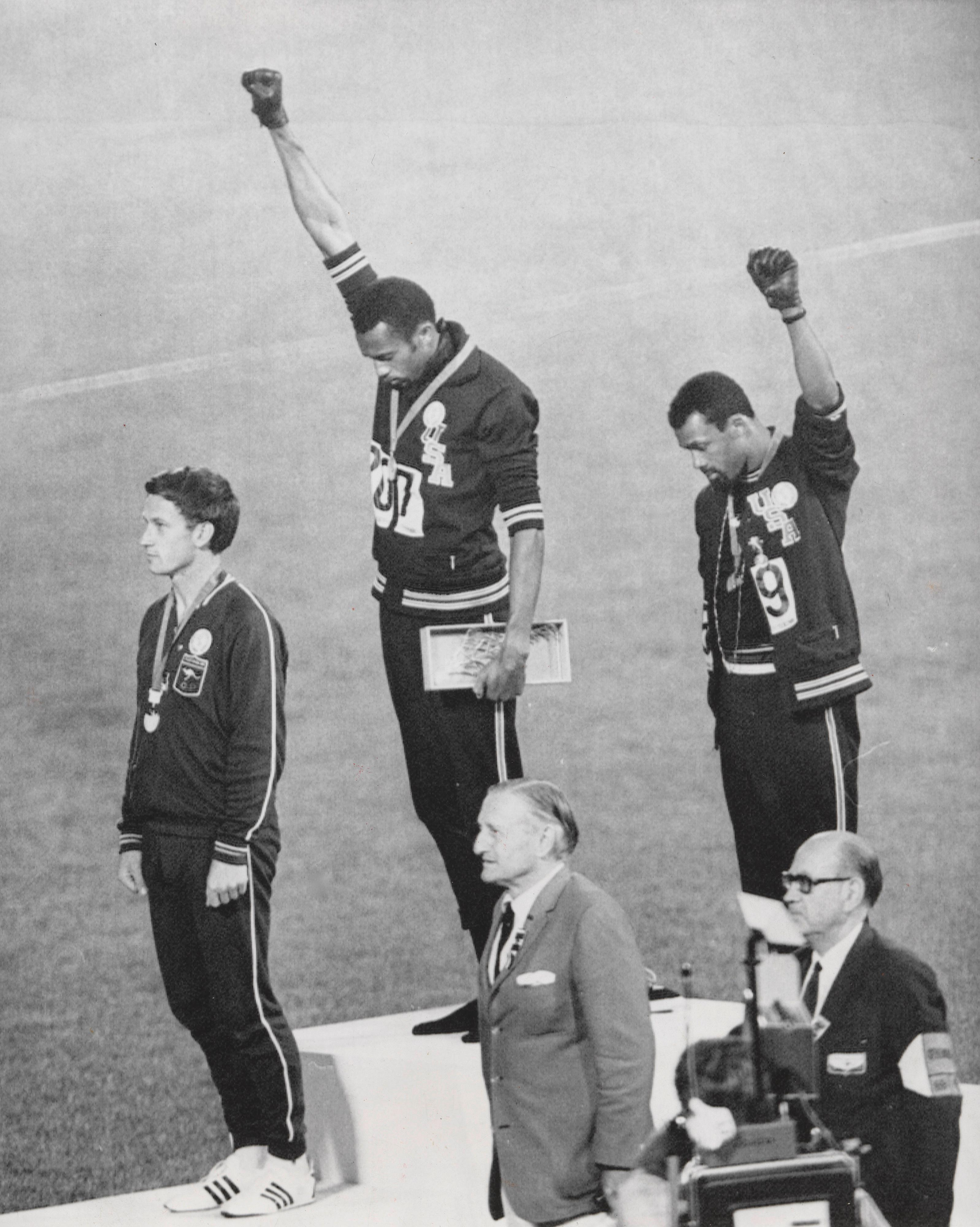 Tommie Smith and John Carlos